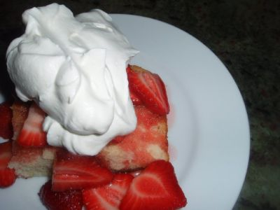 Strawberry Shortcake Goes Italian