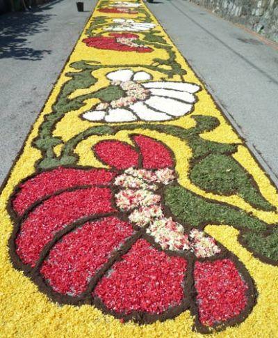 Infiorata - Flower Carpets for Corpus Domini Processions