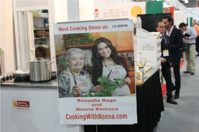 Cooking Demos at the Fancy Food Show with Selezione Casillo