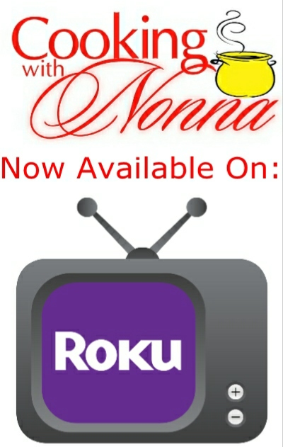 Cooking with Nonna is now on RokuTV