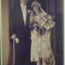 My grandparents, Louis and Marie Minafri October 31, 1926...these are the Nonne that taught us how to cook the Puligese way.