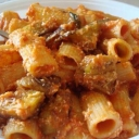 Do you have an eggplant running around the house? Make some Rigatoni alla Norma... they are the best! Get the Recipe:  http://www.cookingwithnonna.com/italian-cuisine/pasta-alla-norma-pasta-with-eggplants.html
