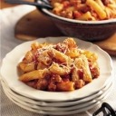 Don't know what to make for dinner? How about some Rigatoni with Isernio Chicken Sausage? Get the Recipe and the Coupon:  http://www.cookingwithnonna.com/italian-cuisine/rigatoni-with-isernios-chicken-sausage.html