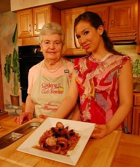 Cooking with my Nonna