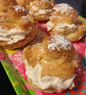 Cream Puffs Recipes