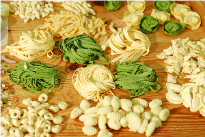Recipe for making pasta