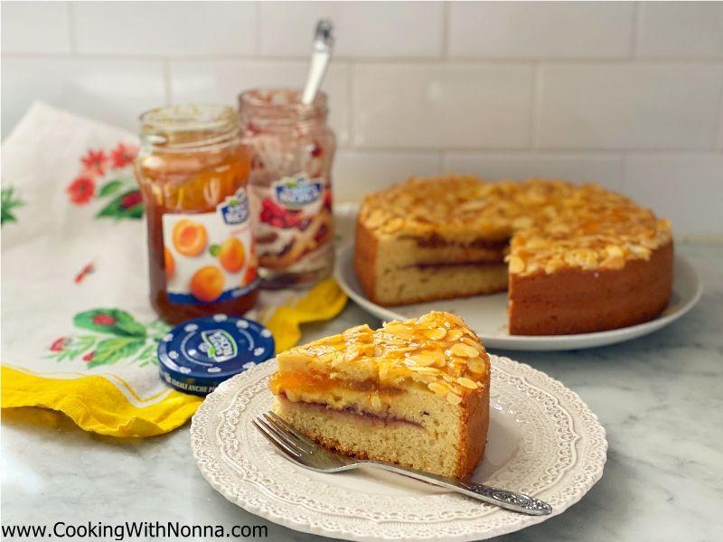 3 Layer Jam Cake