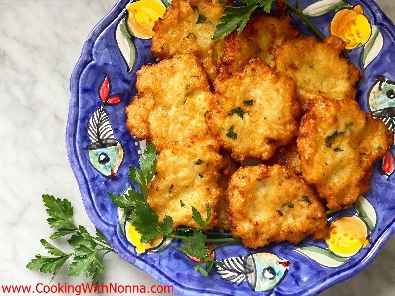 Nonna Eugenia's Cauliflower Patties
