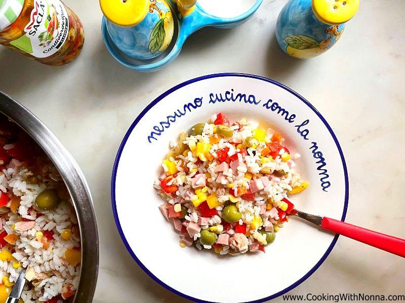 Italian Rice Salad - Insalata di Riso