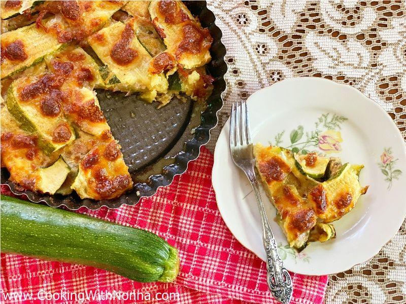 Nonna Maria's Zucchini & Ham Bake