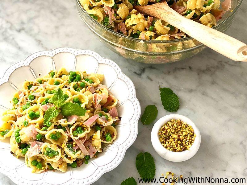 Pasta Salad with  Peas & Ham