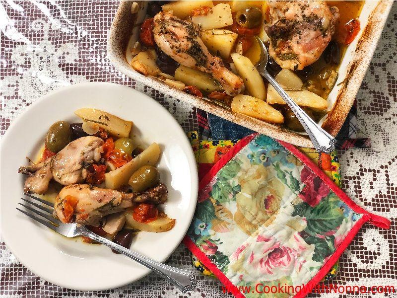 Pugliese Chicken & Potatoes