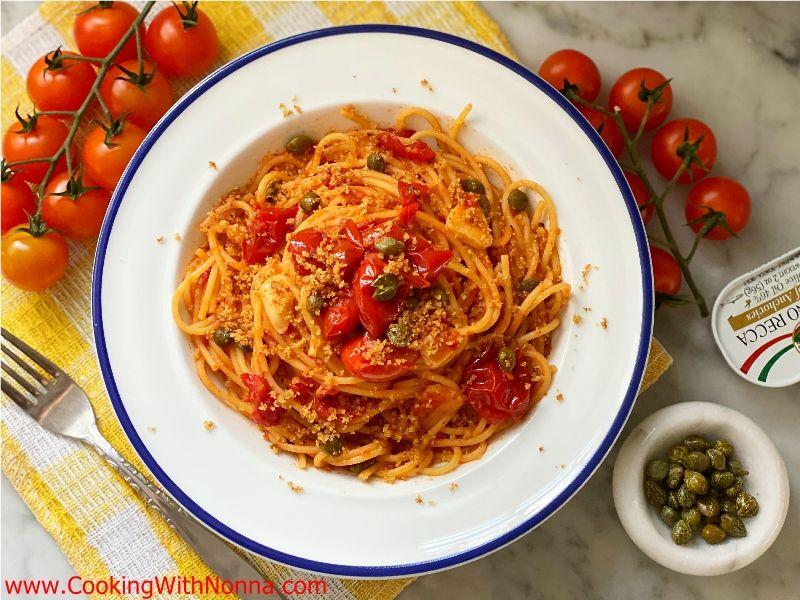 Spaghetti alla Pizzaiola