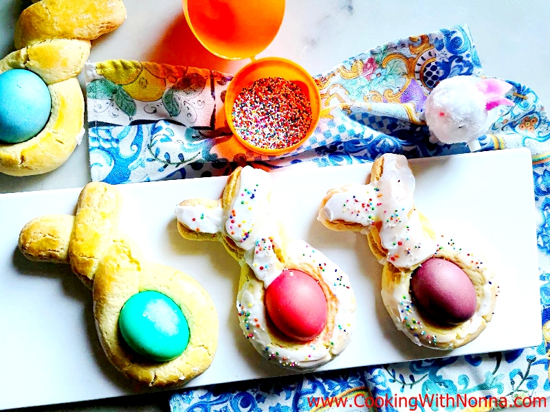 Easter Bread Bunny Twists
