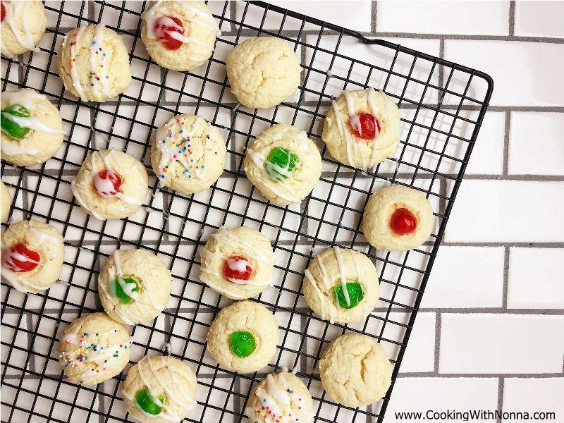 Almond Ricotta Cookies