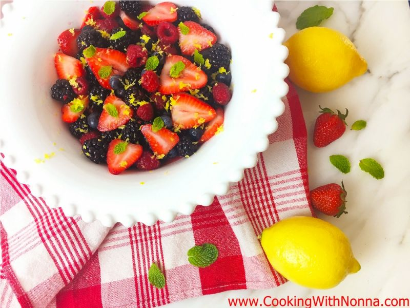 Summer Lemon Berry Salad