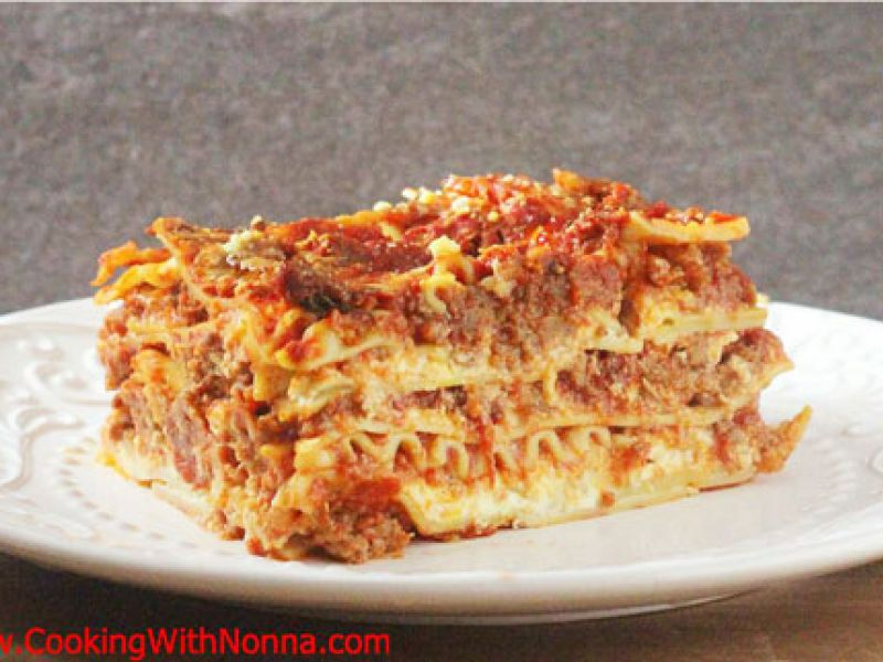 Anna Benedetto's Lasagne