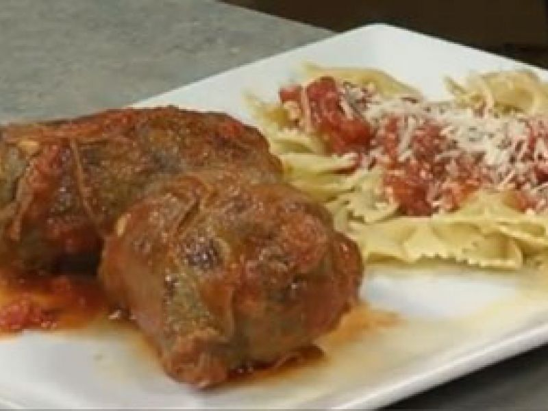 Take A Look At Me Cooking It On Our Cleveland Ohio Morning Show Fox8 2013 01 29 January 2 Braciole