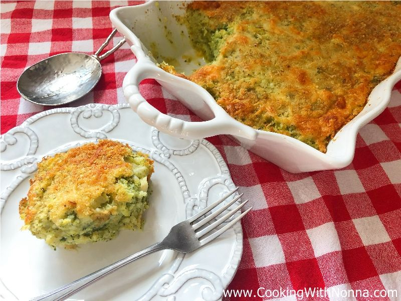 Broccoli Potato Bake - Sformato di Patate e Broccoli