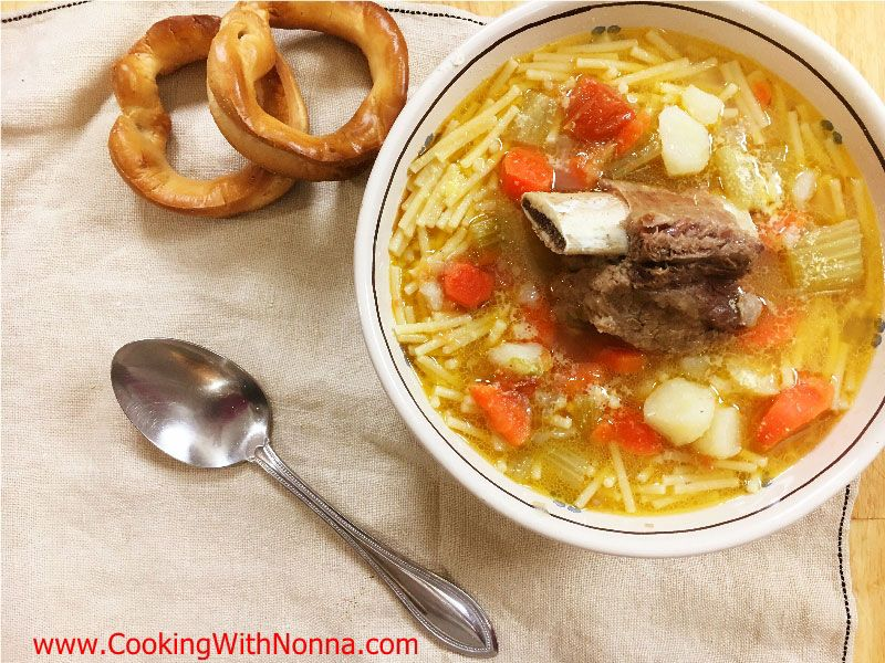 Bollito or Brodo di Carne - Meat Soup