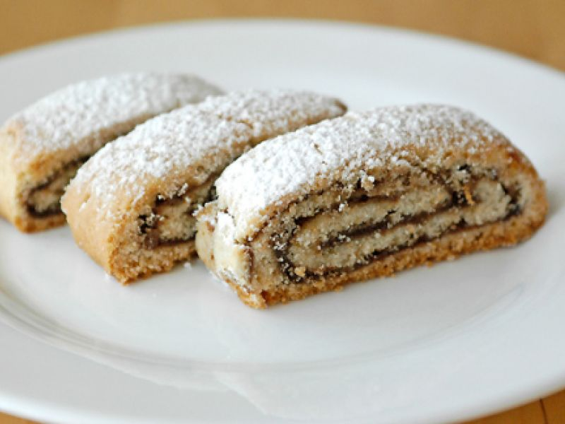 Nutella Rolled Cookies