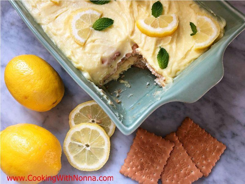 Limoncello Ice Box Cake