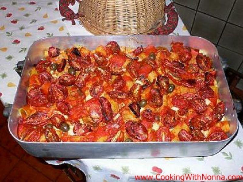 Rigatoni alla Pizzaiola