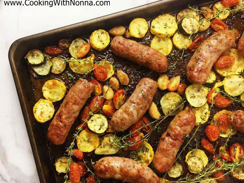Sausage and Summer Veggies