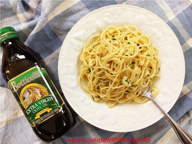 Spaghetti Garlic and Oil