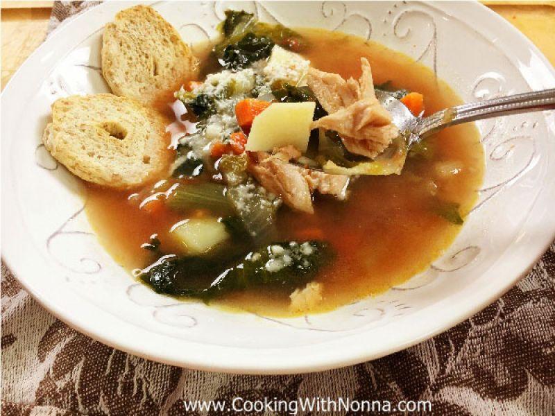 Turkey and Escarole Soup