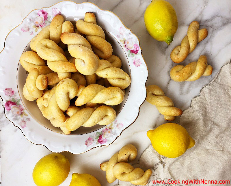 Lemon Twist Cookies