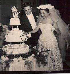 This photo is of my parents wedding day December 2, 1951. Madeline and Robert Sauchelli. They lived in Brooklyn, NY before they were married. This December they will be married