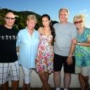 050 Bob, Jo Ann, Rossella, Fred and Donna at the Villa