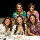 120 Rosaria, Jennifer, Maryla, Rossella and Patricia at the Villa