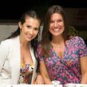 090 Rossella and Patricia at the Villa