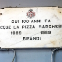 Pizzeria Brandi in Naples... in 1889 in this Pizzeria, the Pizza Margherita was born.