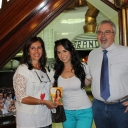 Rossella with the owners of Brandi: Sara and Eduardo Pagnani.
