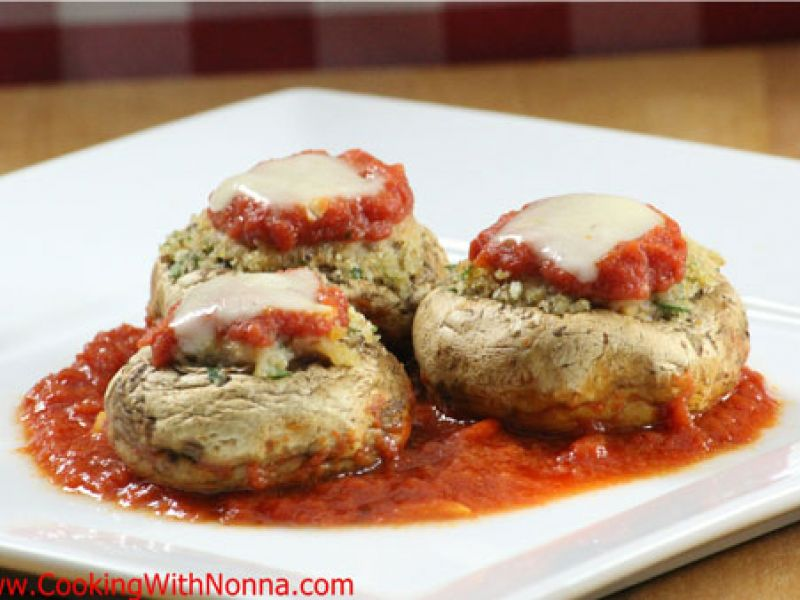 Stuffed Mushrooms di Nonna Carmela