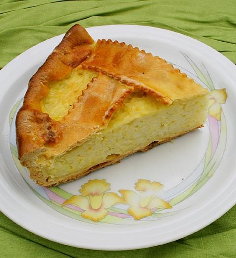 Italian Sweet Rice Cake Recipe