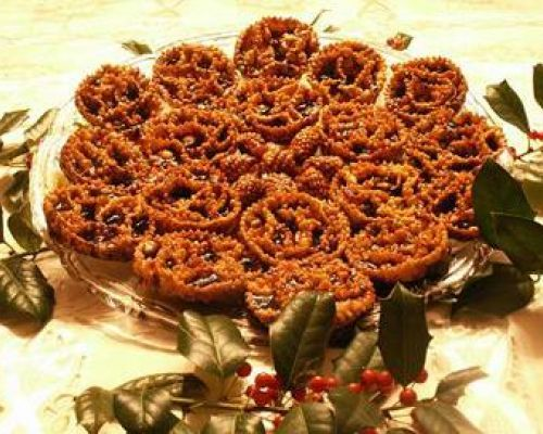 Cartellate - Christmas Fritters