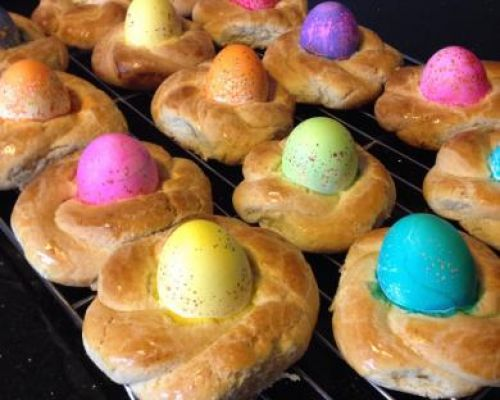 Italian Easter Egg Baskets
