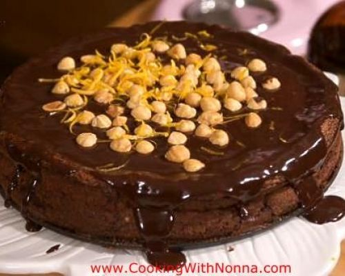 Nutella Grand Marnier Cake