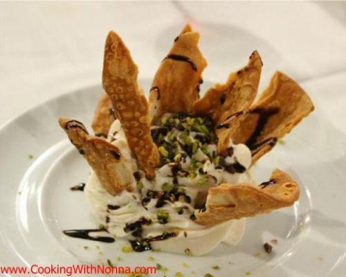 Deconstructed Cannoli