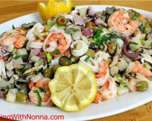 Seven Fishes Seafood Salad