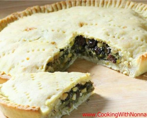 Escarole Pie
