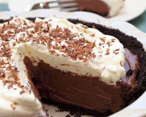 Sweet Nutella Pie
