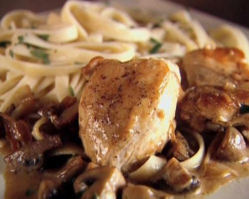 Chicken with Mustard Mascarpone Marsala
