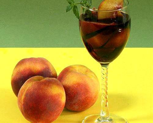 Peaches and Wine - Pesche con Vino