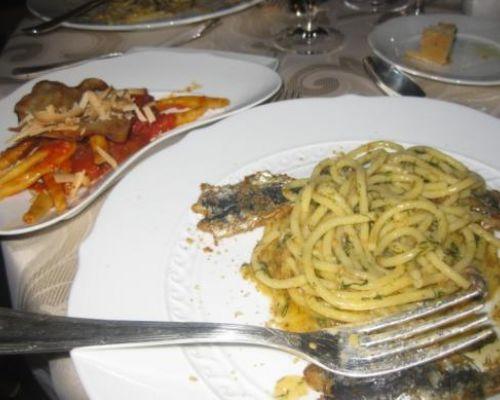 Pasta with Fresh Sardines