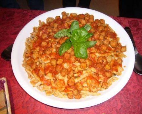 Maritati Pasta with Tiny Meatballs